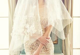 Svatební závoj nebo svatební fascinátory