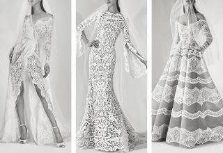 Trochu jiné svatební šaty značky Elie Saab