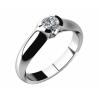 Zásnubní prsten - Briliant nebo zirkon