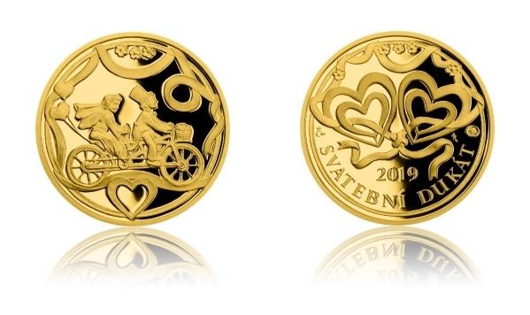 Zlatý peníz – nejžádanější svatební dar